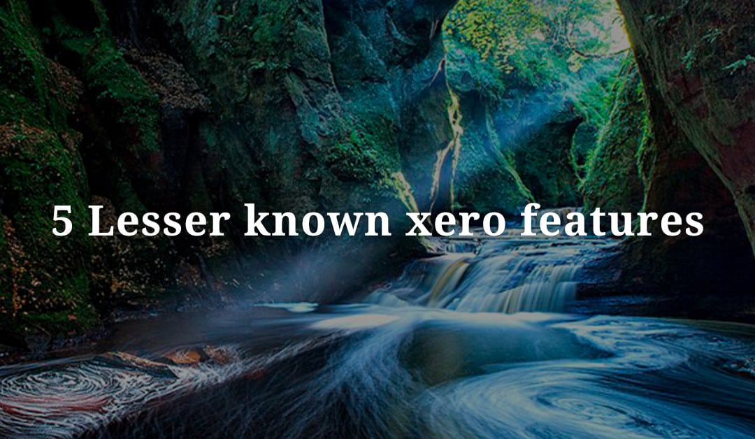 5 Lesser-Known Xero Features