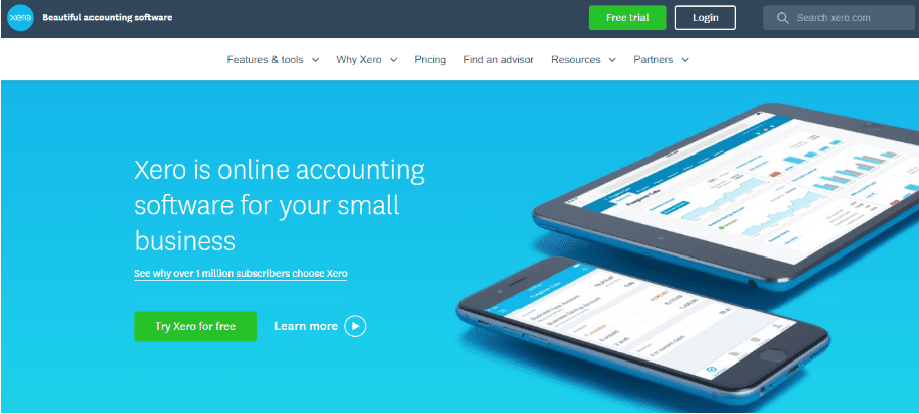 Xero software making tax digital for VAT