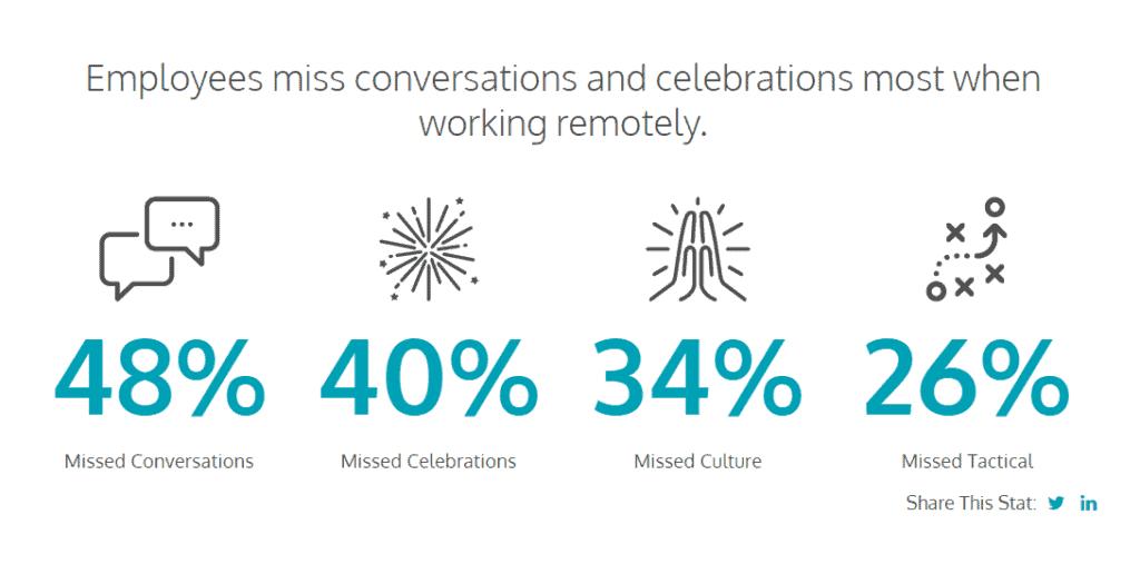 Remote Team Members Statistics