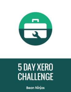 free 5 Day Xero Challenge banner