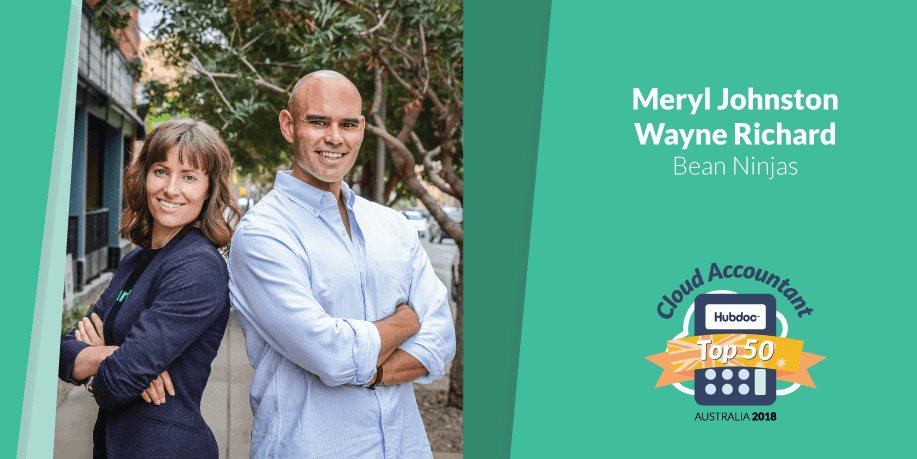 hubdoc_top50_accountants_2019_meryl_johnston_wayne_richard_beanninjas