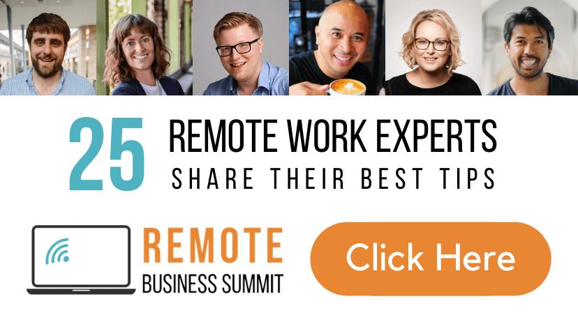 remote business summit banner