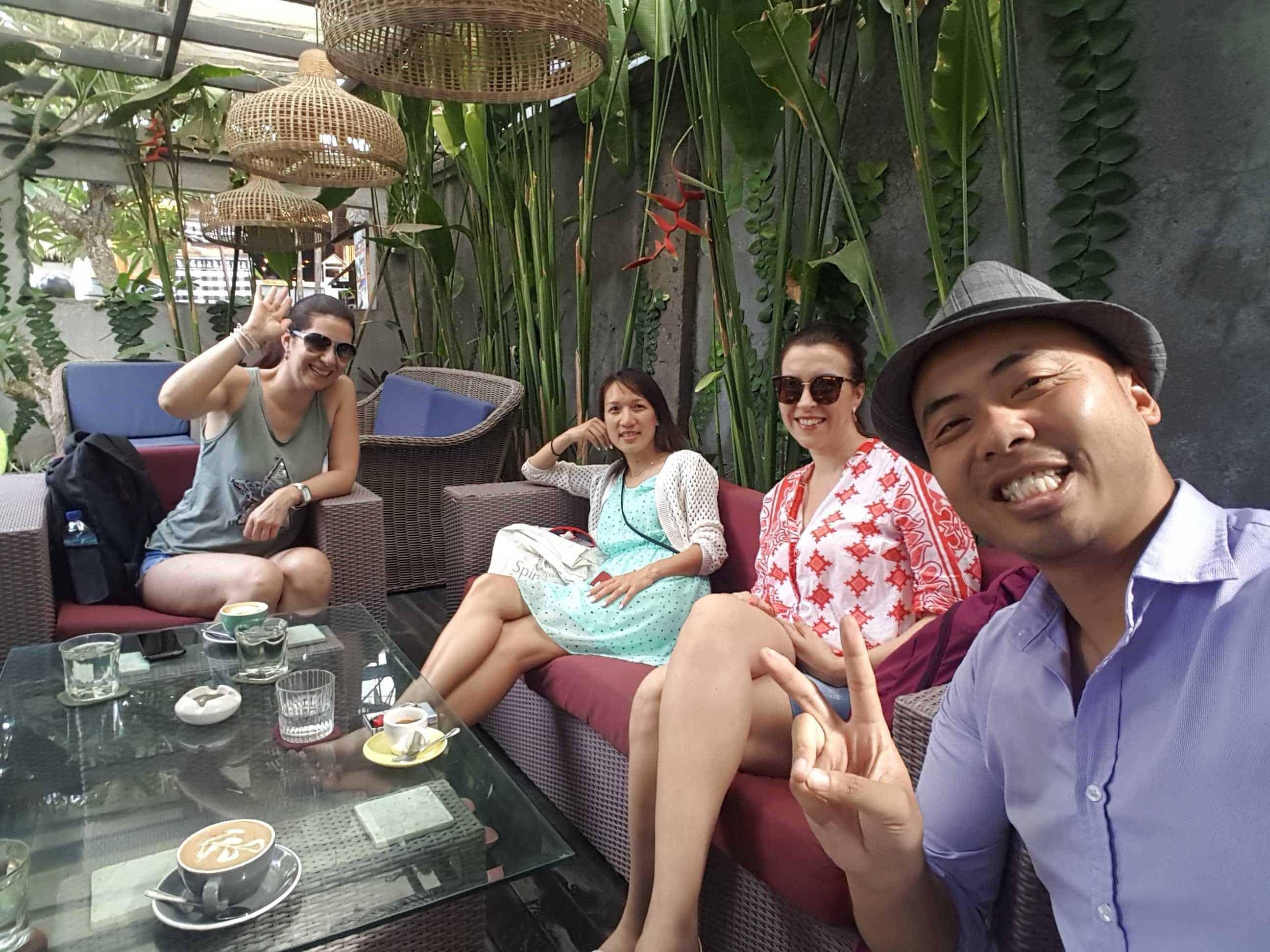 Vesna meeting Anf in Bali